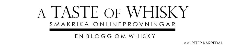 A Taste of Whisky – Blogg